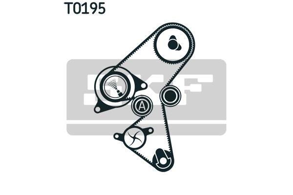 SKF - Distributieriem kit incl.waterpomp - SKF VKMC 03259