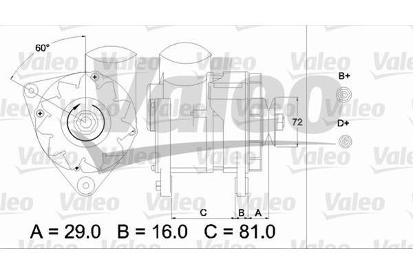 Motordelen en toebehoren / Dynamo en Startmotor BMW 3