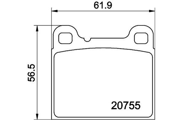 Remsysteem / Remblokken Volvo 850 Sedan 2.0i 20_V B5204FS