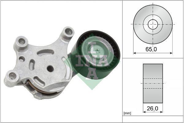 INA - Spanner poly V-riem - INA 534007520