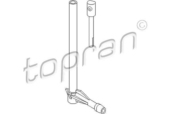 TOPRAN - Ruitensproeier - 107 296