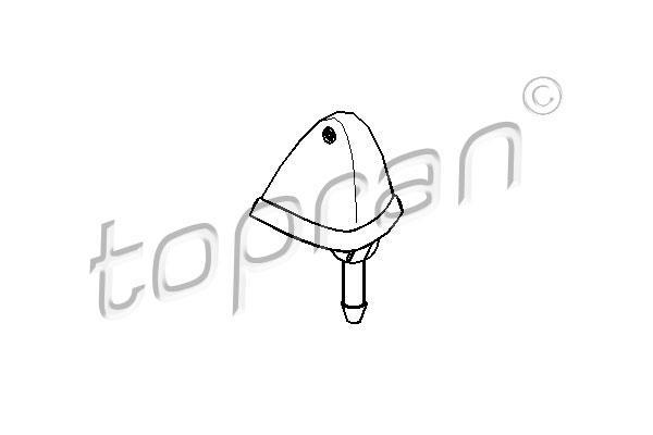TOPRAN - Ruitensproeier - 103 244