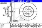 ATE - Remschijf - 24.0111-0129.1