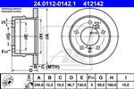 ATE - Remschijf - 24.0112-0142.1