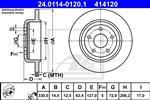 ATE - Remschijf - 24.0114-0120.1