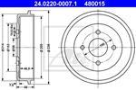 ATE - Remtrommel - 24.0220-0007.1