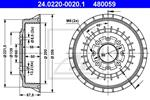 ATE - Remtrommel - 24.0220-0020.1