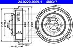 ATE - Remtrommel - 24.0220-0009.1