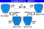 ATE - Remblokset - 13.0460-2717.2