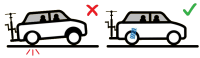 Hulpveren voor fietsendrager